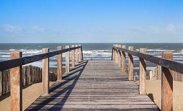 Strandzugang in Nieuwpoort von Danny Tchi Photography