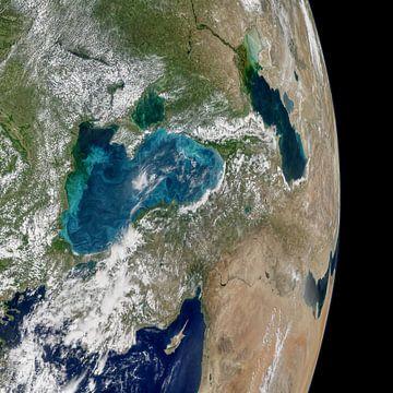 Aarde vanuit de ruimte von Moondancer .
