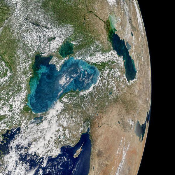 Aarde vanuit de ruimte van Moondancer .