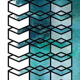 Die Transparenz des Wassers von WatercolorWall