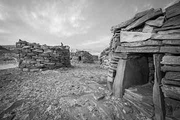 Die Gebäude von Nawamis in der Sinai-Wüste in Ägypten. von Marjan Schmit Visser