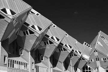 Kubus-Häuser Rotterdam von Edwin Fotografeert