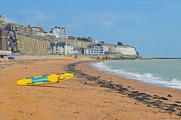 Strandwacht in Ramsgate van Judith Cool