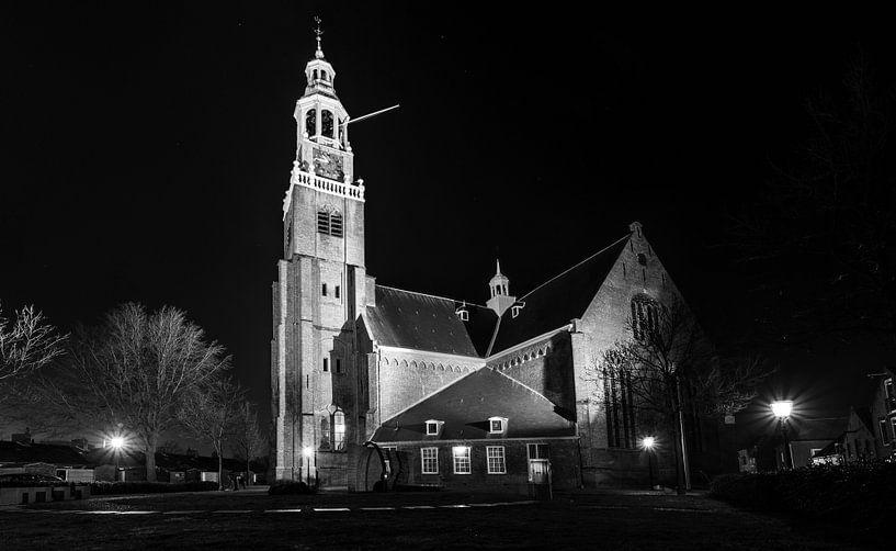 Groote Kerk Maassluis van Maurice Verschuur