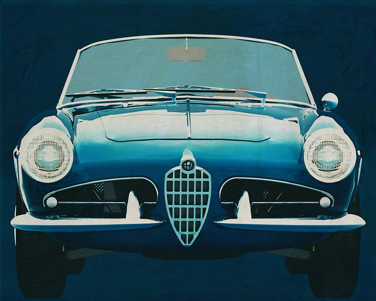 Alfa Romeo Giulietta 1300 Spyder 1955 van Jan Keteleer