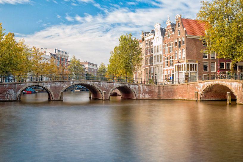 Amsterdam - Herfstig  van Thomas van Galen