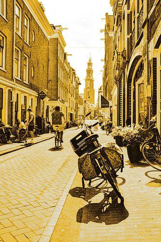 Jordaan Westerkerk Amsterdam Nederland