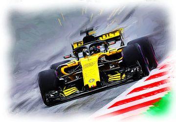 Nico Hülkenberg #27 - Formula 1 Austria 2018 van Jean-Louis Glineur alias DeVerviers
