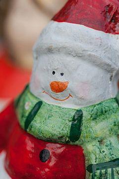 Kerstman met een mooie glimlach. van