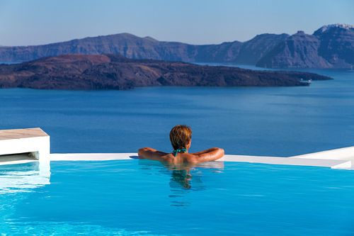 Santorini Infinity Pool II von Erwin Blekkenhorst