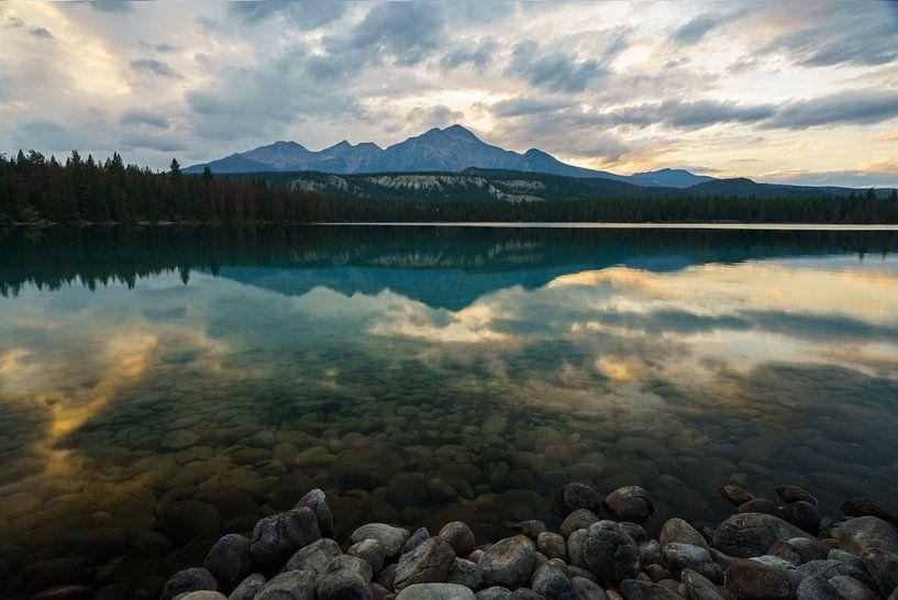Annette Lake Reflection van Steven Driesen