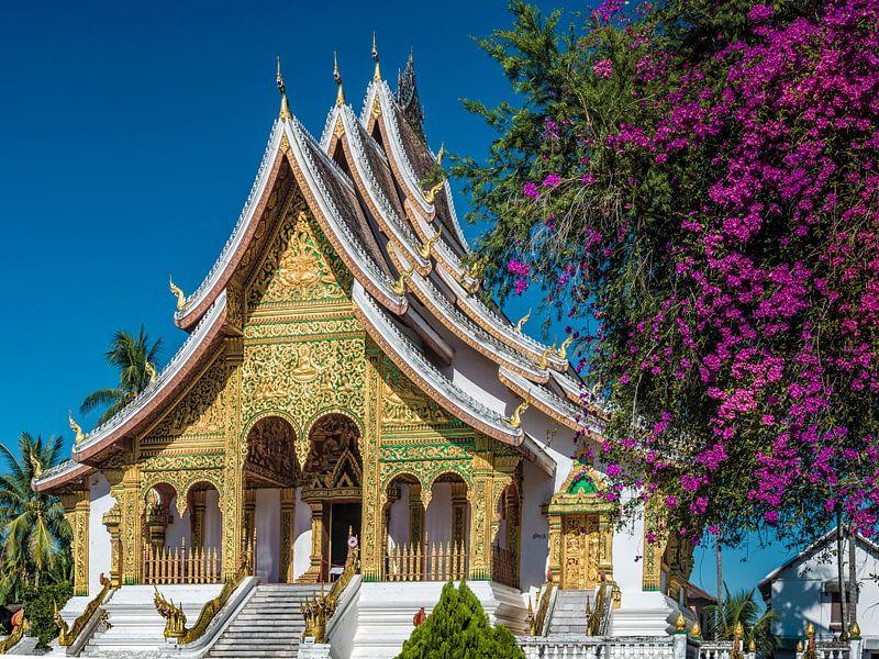 Luang Prabang - Haw Pha Bang van Theo Molenaar