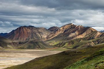 Landmannalaugar Island von Arnold van Wijk