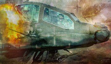 Schlachtfeld-Apache von reinier bergsma photography
