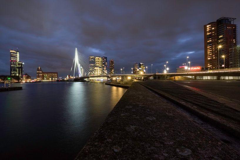 Rotterdam am Abend von Arjen Roos