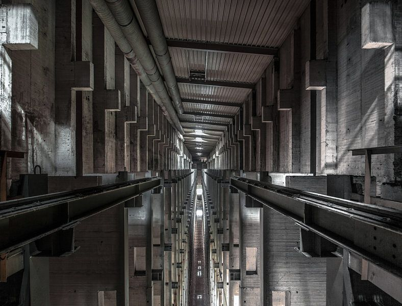 Fabrikhalle 2 von Olivier Photography