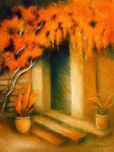 Mediterranes Licht gemalt