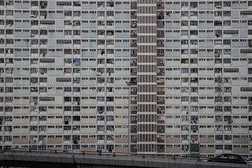 Flatgevel Hong Kong van Govart (Govert van der Heijden)