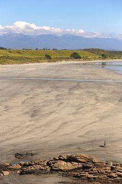 Der Strandspaziergang - Neuseeland von Shot it fotografie