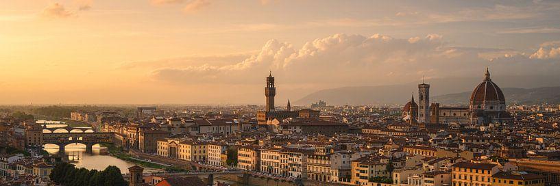 Panorama van Florence van Robin Oelschlegel