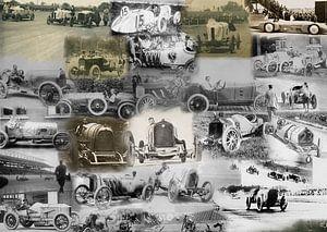 Klassieke raceauto's