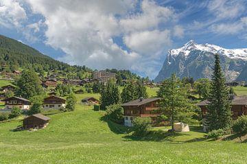 Grindelwald mit Wetterhorn