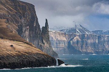 Trøllkonufinger, oftewel de heksenvinger in de Faeröer Eilanden van Nick de Jonge - Skeyes