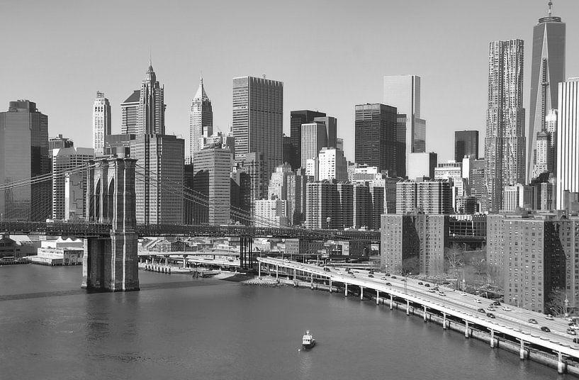 Skyline New York van Sigrid Klop