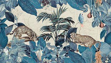 Geparden im Tropendschungel von Andrea Haase