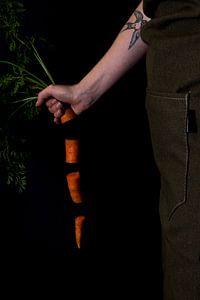 Pieces of carrots van Isa Blom