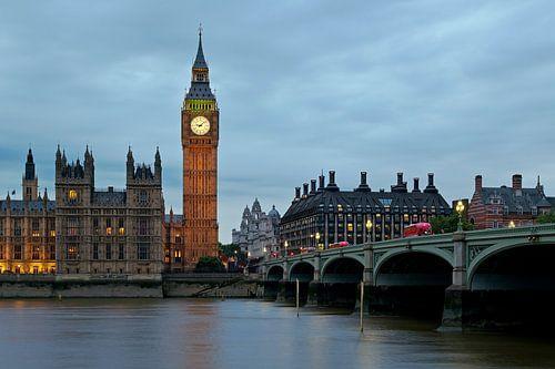 Nachtfoto Big Ben te Londen