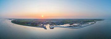 Oudeschild Texel Zonsondergang van Texel360Fotografie Richard Heerschap
