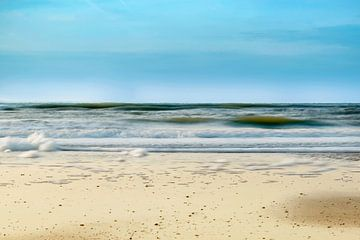 Der Strand von Bergen aan Zee Nordholland sur Nannie van der Wal