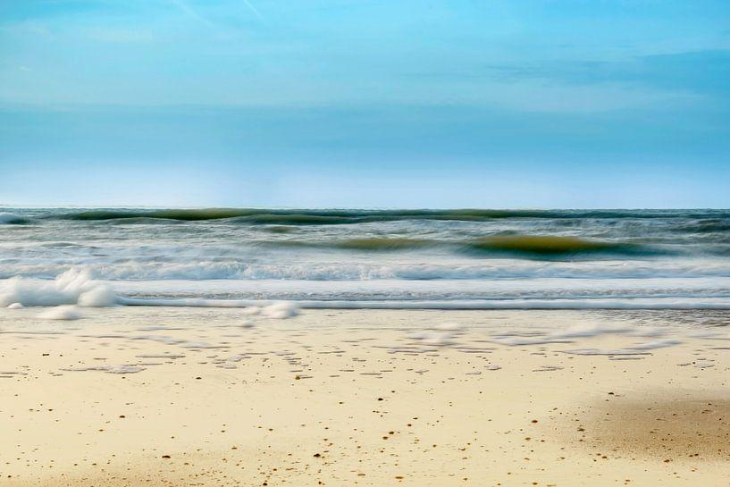 Der Strand von Bergen aan Zee Nordholland von Nannie van der Wal