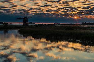Wolken in de rivier van René Groenendijk