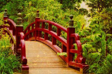 Holzbrücke van Gabi Siebenhühner