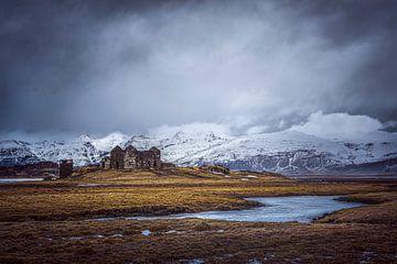 résidence abandonnée Islande sur Peter Poppe