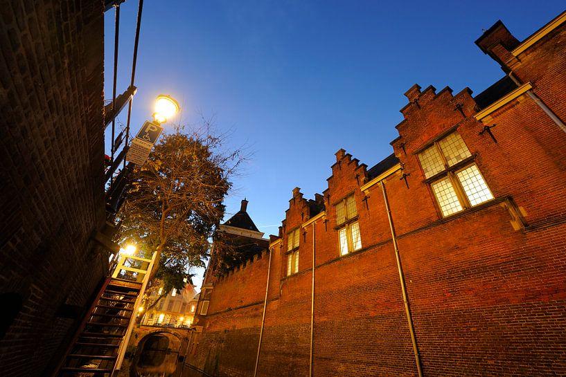 Gebouwencomplex Achter Sint Pieter aan de Kromme Nieuwegracht van Donker Utrecht