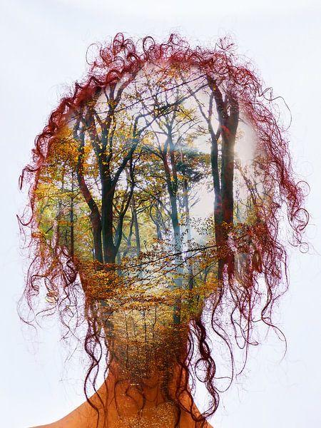 Thinking of the autumn van Gabi Hampe