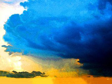 Soirée ensoleillée   Coucher de soleil sur Dirk H. Wendt