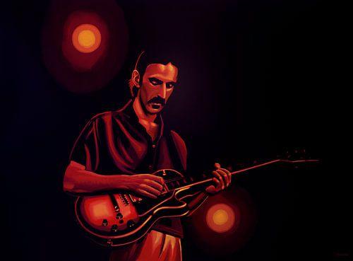 Frank Zappa Schilderij van Paul Meijering