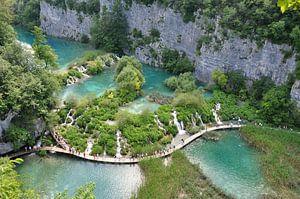 Plitvice meren Kroatië van Peter Mooij