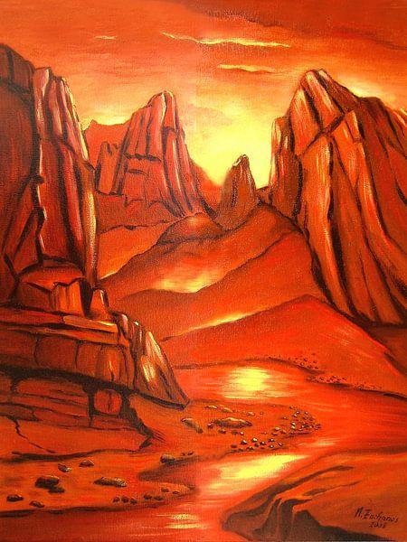 Duivel canyon van Marita Zacharias