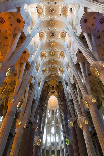 Sagrada Familia, Barcelona van