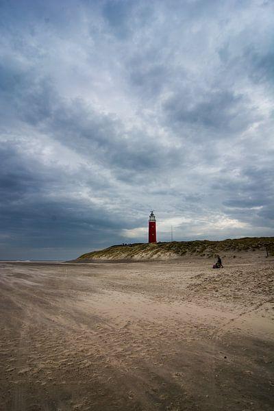 Storm op het strand 04 van Arjen Schippers