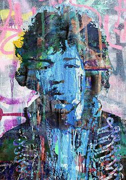 Jimi Hendrix von Stephen Chambers