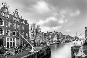 Stadsgezicht Amsterdam Oudeschans von Christian Reijnoudt