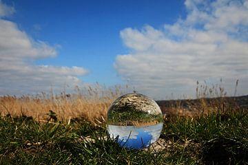 Glazen bol in het voorjaar von Fotografie Sybrandy