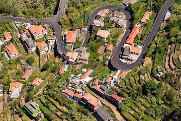 Curral das Freiras auf der Insel Madeira von Werner Dieterich