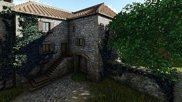 old landhouse 02b van H.m. Soetens
